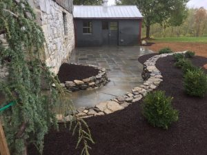 limestone barn foundation
