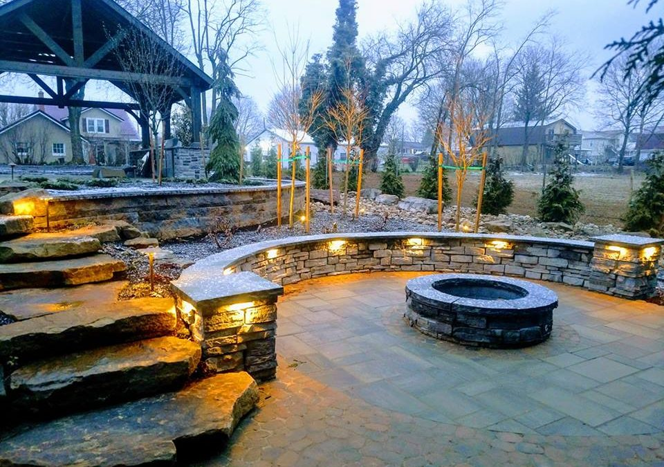 Four simple, creative and affordable ways to implement outdoor lighting into your landscaping project