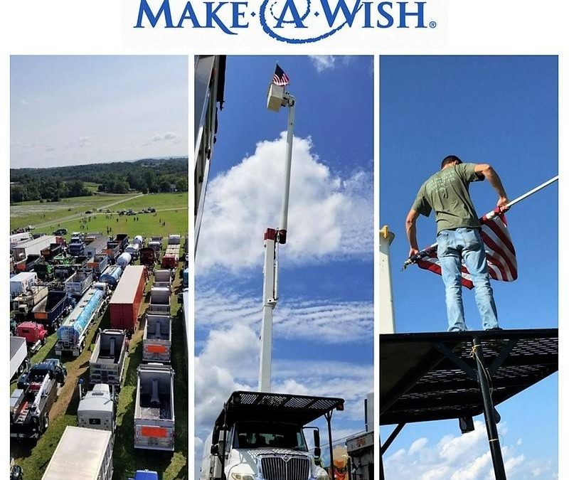 CVTS-L Participates in Truck Convoy to Raise Money, Awareness for Make-A-Wish